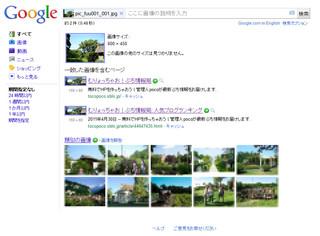 google画像検索サンプル